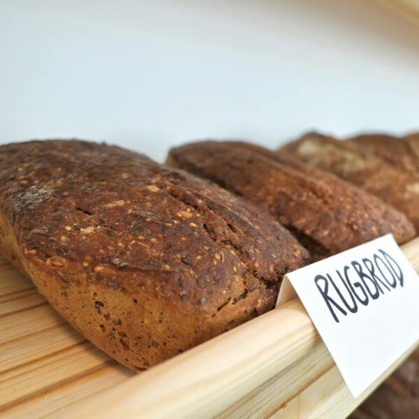 Rugbrod rženi kruh Art Bread