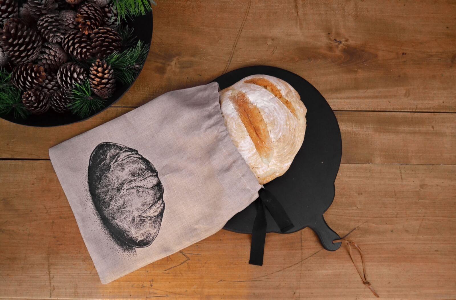 vrečka za shranjevanje kruha Jagababa